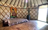 Ganesha Yurt (plus € 910,-) - not longer available!