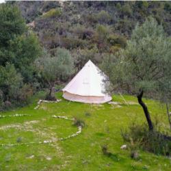 Shared Bell Tent